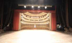 teatro coccia palcoscenico